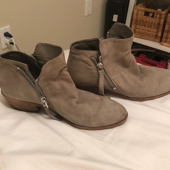 "2f6cf1861e6503 Sam Edelman leather ankle booties ""packer"". M 5b4e9776409c15b65a63e99c"